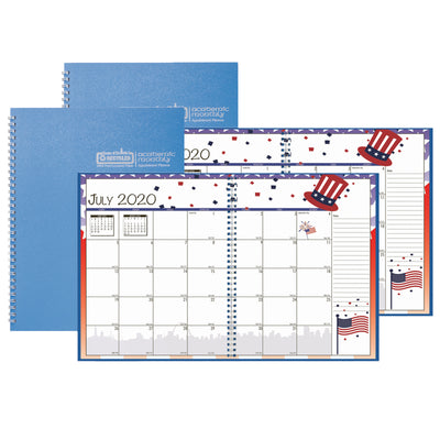 (2 Ea) Seasonal Monthly Planner Jul-jun Academic