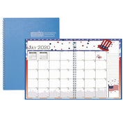 Seasonal Monthly Planner Jul-jun Academic