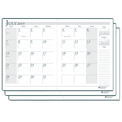 (3 Ea) Academic Monthly Planner 14 Months Jul-aug
