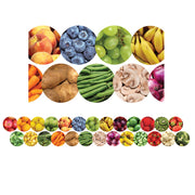 (6 Pk) Fruits And Veggies Border