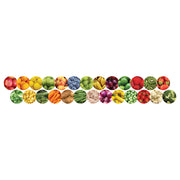 (5 Pk) Fruits And Veggies Border