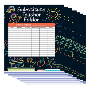 Substitute Folder Elem Kid 24-pk 9 X 11 W- Pocket