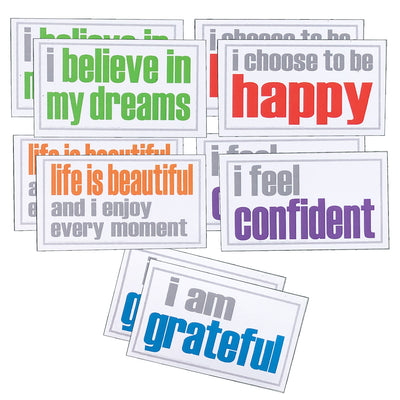 (2 Pk) Confidence Magnets Pack Of 5