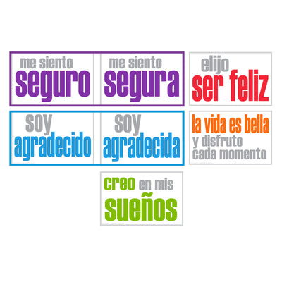 Confidence Posters Spanish 5pk - Student Spotlight