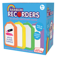 Rainbow Recorders Set Of 4