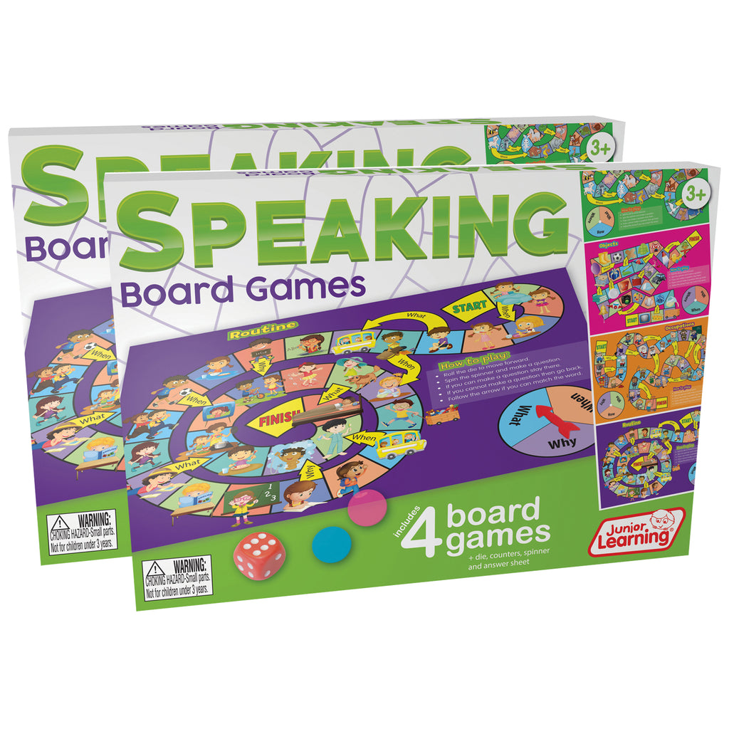 (2 Ea) Speaking Board Games