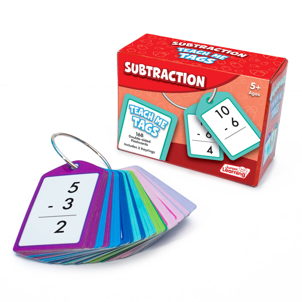Teach Me Tags Subtraction