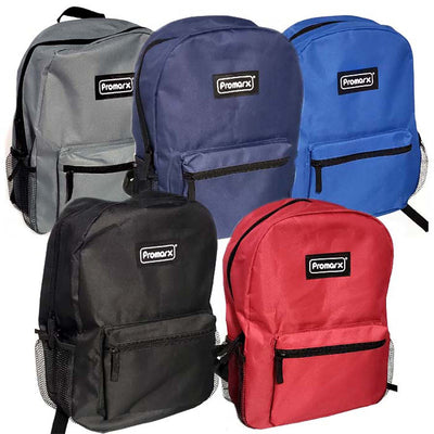 Promarx Backpack 15in 2 Mesh Pockts Let Us Choose Your Color