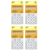 (4 PK) SUBTRACTION DICE 10 PER PK