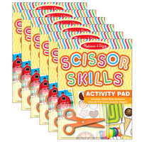 (6 EA) SCISSOR SKILLS ACTIVITY PAD