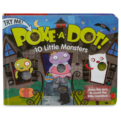 Poke-a-dot 10 Little Monsters