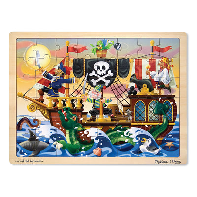 Pirate 48-pc Wooden Jigsaw Puzzle