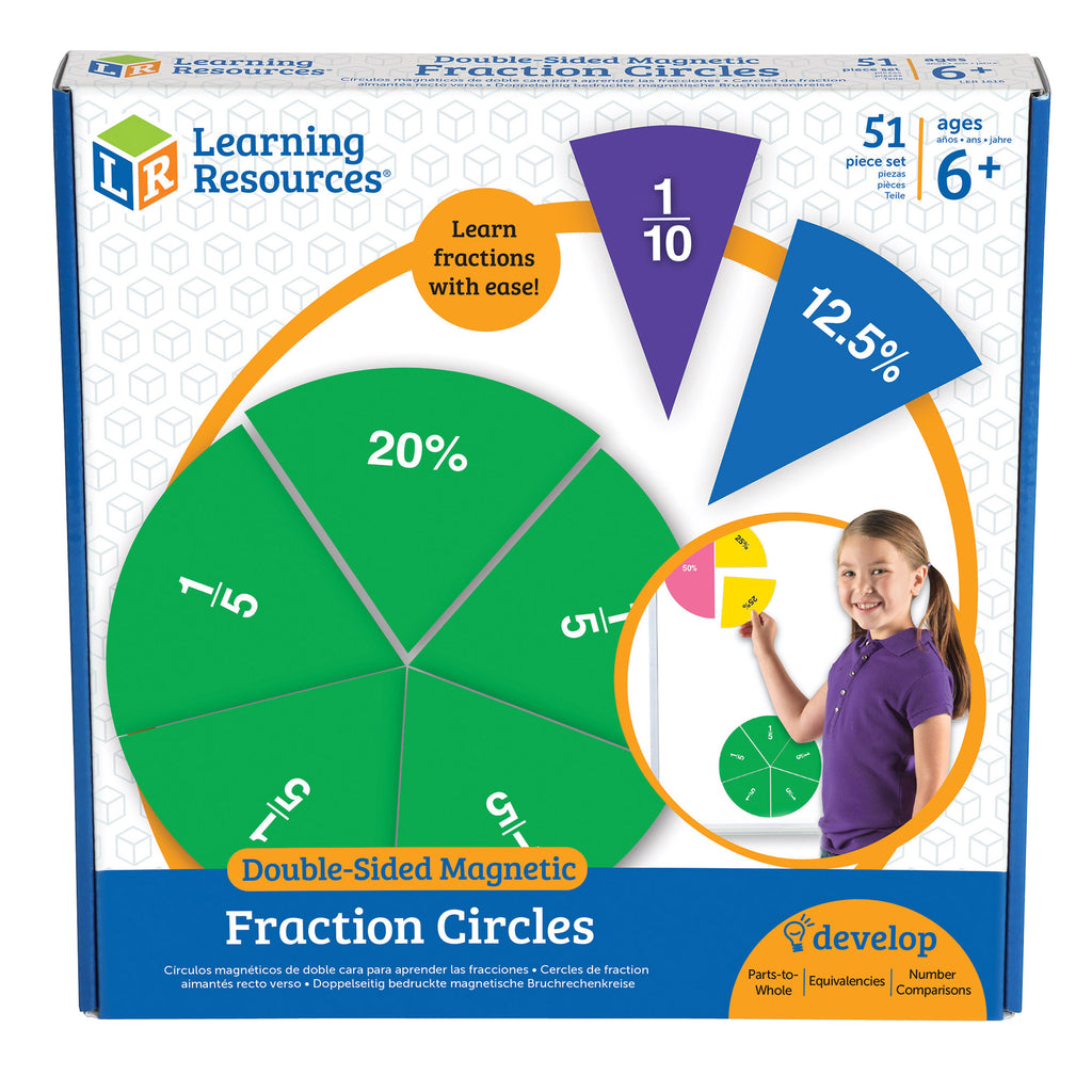 Double Sided Magnetic Fraction Circles
