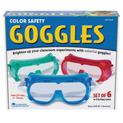 Rainbow Safety Goggles Set Of 6 - Student Spotlight