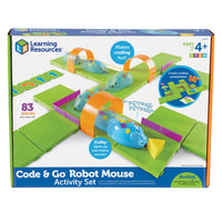 STEM ROBOT MOUSE CODING ACTIVITY