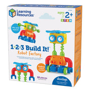 1-2-3 Build It Robot Factory