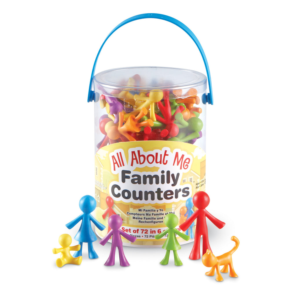 All About Me Family Counters 72 Set