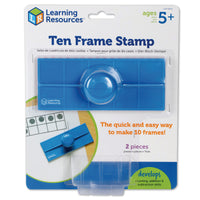 (3 Ea) Ten Frame Stamps - Student Spotlight