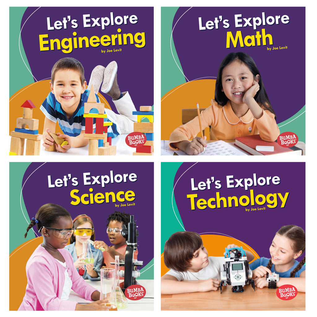 A First Look At Stem Set Of 4 Books