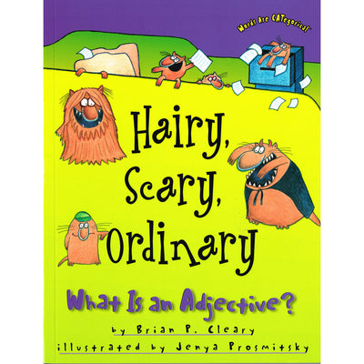 Words Are Categorical Hairy Scary Ordinary What Is An Adjective
