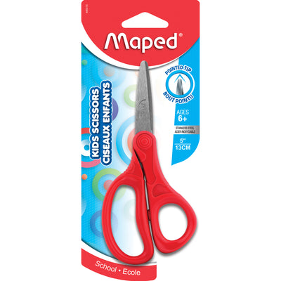 (12 Ea) Essentials Kids Scissors 5in Point