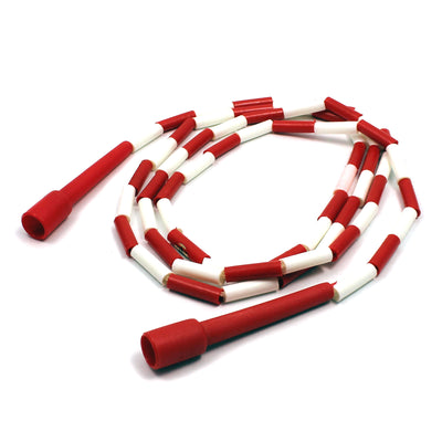 (6 Ea) Jump Rope Plastic Segmented 8ft