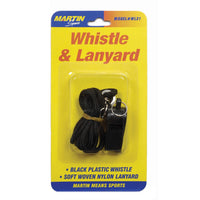 (12 St) Whistle & Lanyard No P20 & Lanyard On Blister Card