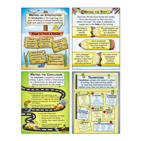 Organizing Good Writing Teaching Poster Set