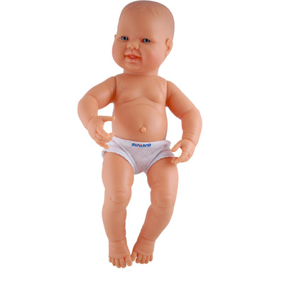 White Girl Anatomically Correct Newborn Doll