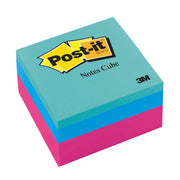 Post-it Notes Cube 2x2 400shts Neon