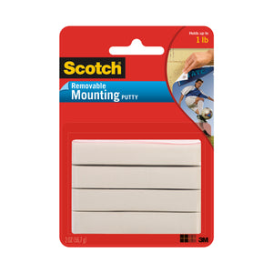 (12 Ea) Scotch Removable Adhesive Putty