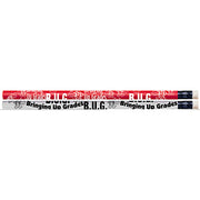 (12 Dz) B U G Bringing Up Grades Motivational Fun Pencils 12 Per Pk