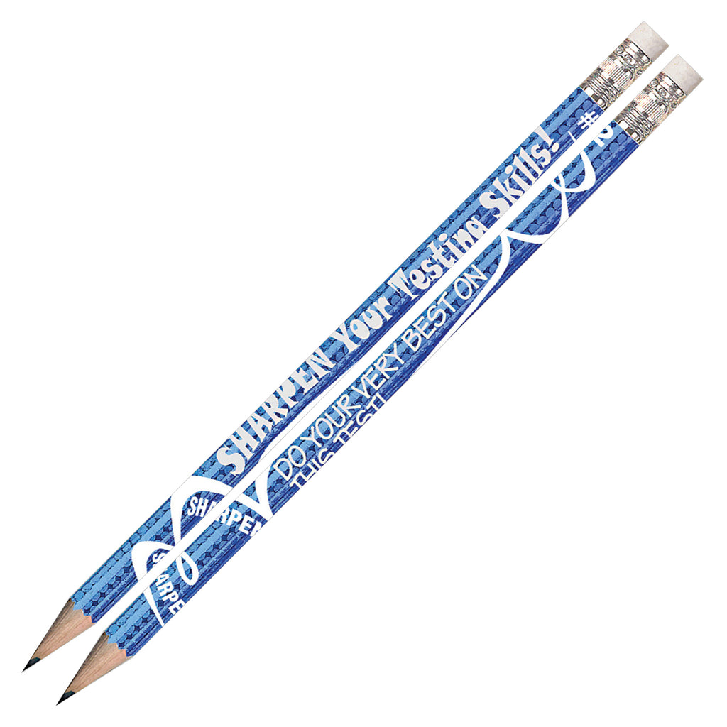 Sharpen Your Testing Skills 12pk Pencils Pre Sharpened