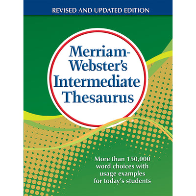 Merriam Websters Intermediate Thesaurus Hardcover