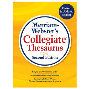 Merriam Webster College Thesaurus 2nd Edition