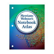(6 Ea) Merriam Websters Notebook Atlas