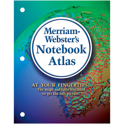 Merriam Websters Notebook Atlas