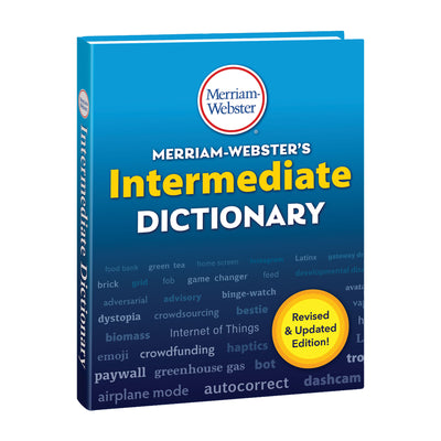 Intermediate Dictionary Hardcover 2020 Copyright