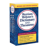 Merriam Websters Dictionary & Thesaurus Trade Paperback Size