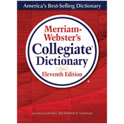 Merriam Websters Collegiate Dictionary 11th Ed Indexed W-cd