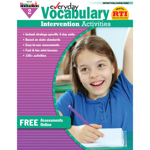 Everyday Vocabulary Gr 2 Intervention Activities