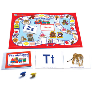 Language Readiness Games Alphabet Learning Center