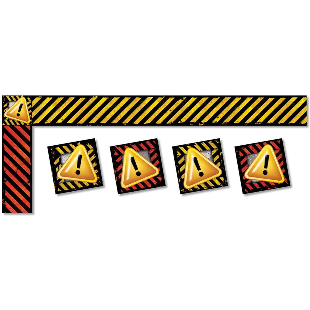 (6 Pk) Caution All Around The Board Trimmer