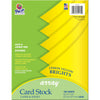 (2 Pk) Array Card Stock Brights Lemon Yellow 100 Sht Per Pk