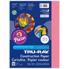 Tru Ray 9 X 12 Shocking Pink 50 Sht Construction Paper