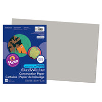 Sunworks 12x18 Gray Groundwood 50ct Construction Paper