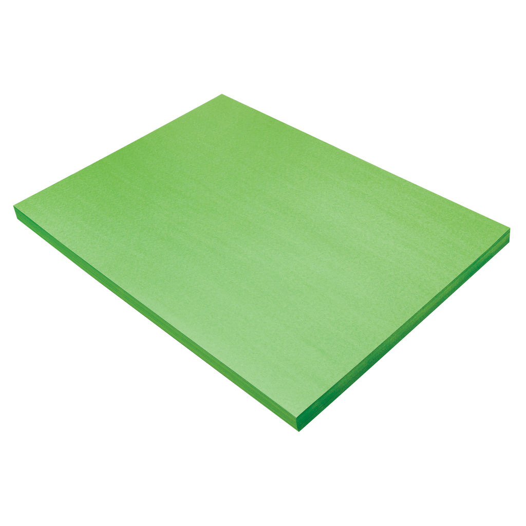 Construction Paper Brt Green 18x24 100 Sheets