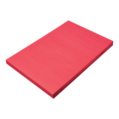 Sunworks 12x18 Holiday Red 100ct Construction Paper