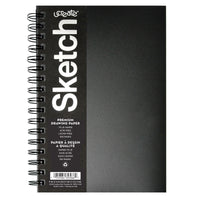 Poly Cover Sketch Book Heavyweight 9in X 6in 75 Sheets
