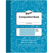 Pastel Blue Composition Book Wide Ruled - Student Spotlight